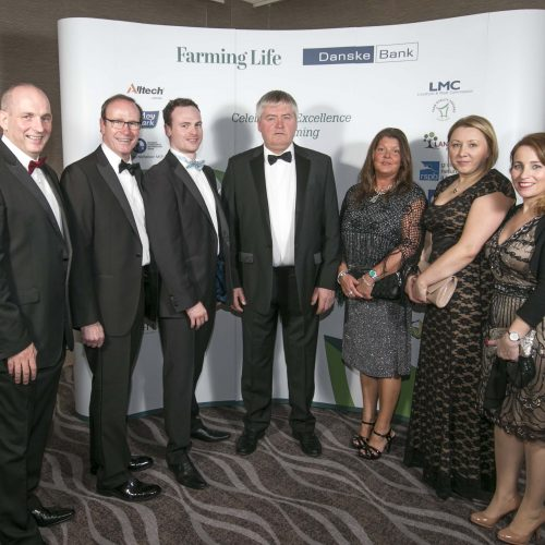 Pictured at the Farming Life Awards 2016