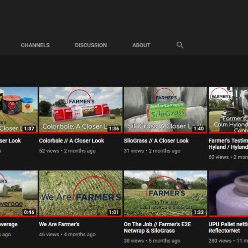 Farmer's YouTube Channel